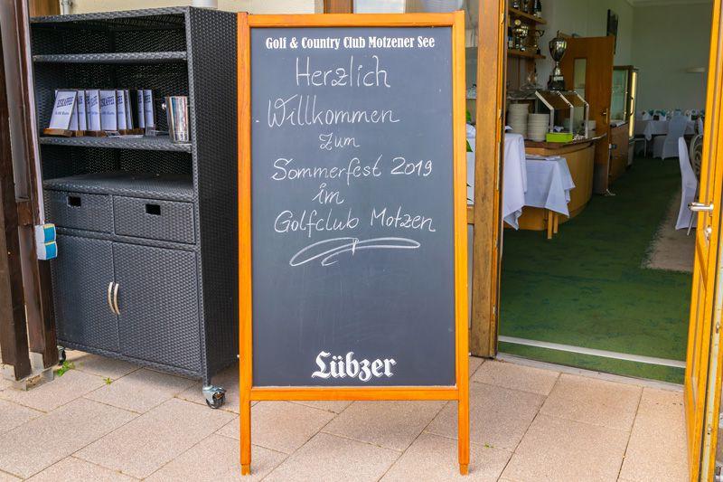 DJ Brandenburg Christian Libor - Golfclub Motzen - Willkommen