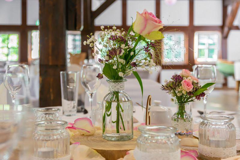 DJ Bad Belzig Hochzeit & Event Christian Libor - Springbachmühle - Tischdekoration