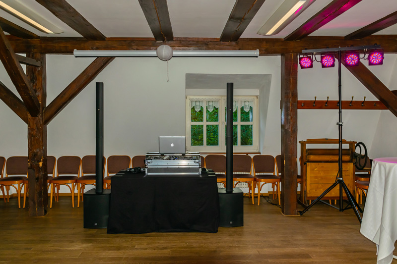 DJ Bad Belzig Hochzeit & Event Christian Libor - Springbachmühle - Party Technik